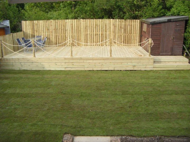 Cost Of Landscaping Garden Smart gardens gardening landscaping leeds before after photos this family was left amazed when smart gardens transformed their dilapidated garden into this stunning lawn and decking combination workwithnaturefo
