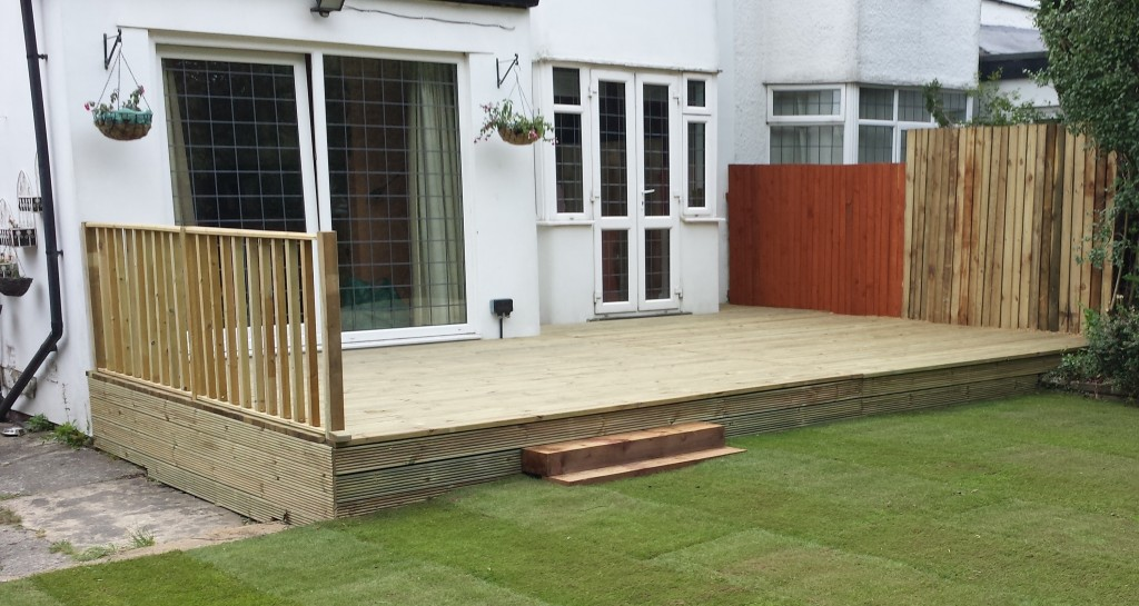 Smart Gardens Leeds Decking Company Fencing Garden Decking Leeds